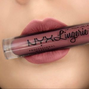 NWT sexy lingeries collection NYX lip color
